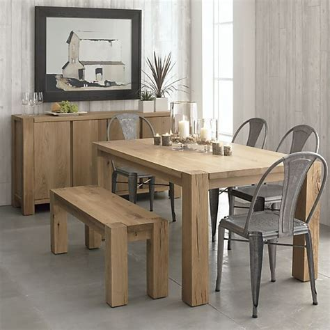 big sur dining table big sur natural 90 5 quot dining table