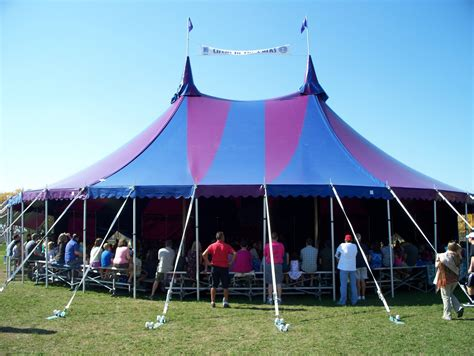 armbruster manufacturing co midnight circus tent in