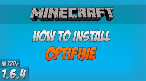 minecraft   install optifine  forge  hd