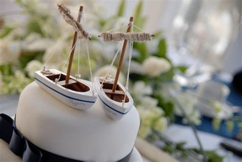 Sailboat Cake Topper by Caketopper Friday Anchored Sailboats Caketopper A