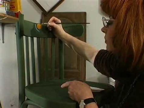 repeindre une chaise comment repeindre une vieille chaise