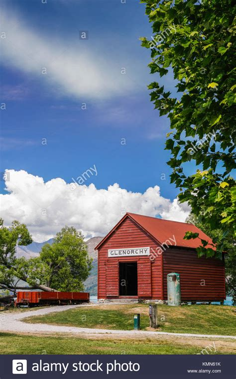 The Boat Shed New Zealand by Glenorchy New Zealand Stock Photos Glenorchy New Zealand