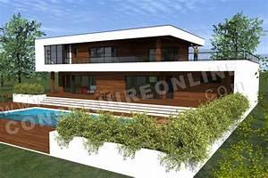Maison Architecte Plan : vente de plan de maison contemporaine ~ Dode.kayakingforconservation.com Idées de Décoration