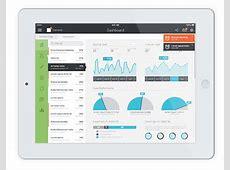 iPad iOS 7 Tablet App & Mobile Dashboard on Behance