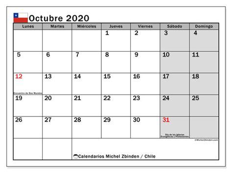 calendario octubre chile michel zbinden es