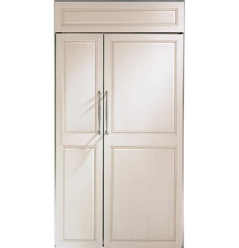 zisnx ge monogram  built  side  side refrigerator monogram appliances