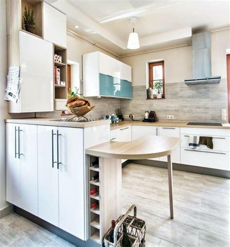 blanco  madera cincuenta ideas  decorar tu cocina