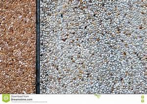 Gravier A Beton : gravier blanc et mur en b ton photographie stock image ~ Premium-room.com Idées de Décoration