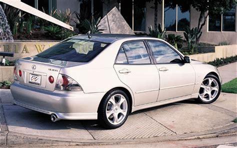 lexus sedan 2000 team europe 2000 lexus is200 featured custom vehicles