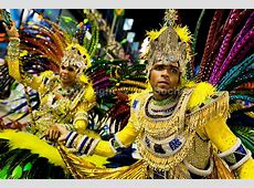 Carnival in Sambodromo, Rio de Janeiro, Brazil Jan