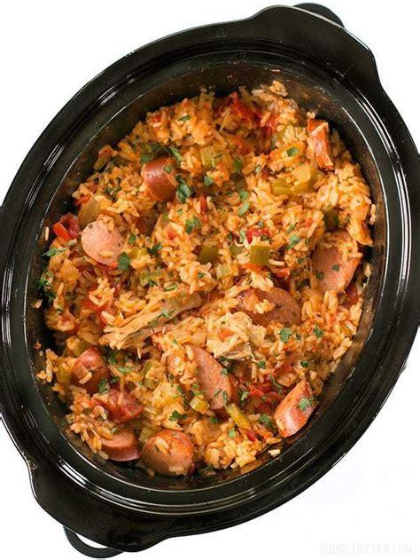jambalaya cooker slow recipes recipe crockpot budgetbytes jumbalaya sausage meals pot louisiana crock chicken easy dish bytes budget classic casera