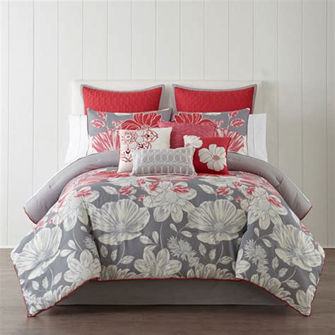 jcpenney home collection comforter home expressions 10 pc comforter set jcpenney