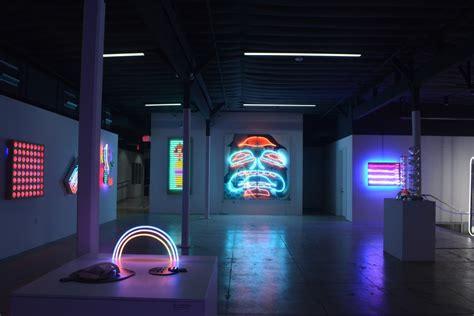 museum  neon art switches    la