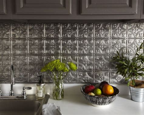 Adhesive Backsplash : Adhesive Backsplash. Easy Kitchen Backsplash With Smart