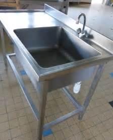 meuble cuisine buffet evier inox 1 bac clasf