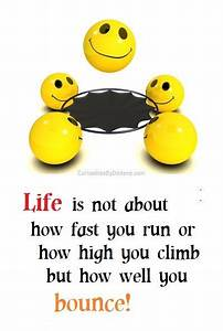 Life is not abo... Funny Emoticon Quotes