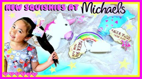 New Squishies At Michaels Magical Skwishy Unicorn