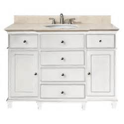 42 Inch Bathroom Vanity Top Only by Avanity Windsor 48 Inches Bathroom Vanity In White Finish