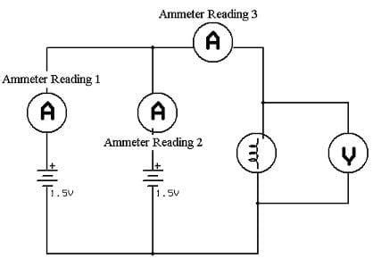 three parallel circuit diagram bulbs three free engine