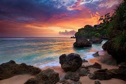Bali Indonesia Nature Landscape Sunrise Desktop Backgrounds