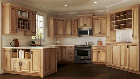 hampton bath cabinets  natural hickory kitchen