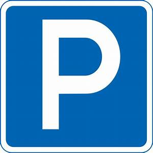 File:Japanese Road sign (Parking lot A, Parking permitted ...  Parking