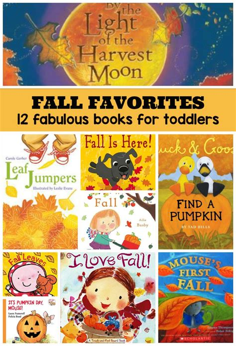 12 fabulous fall books for toddlers where imagination grows 391 | fall books autumn toddlers best