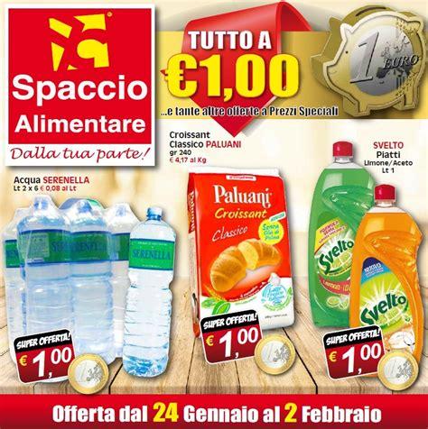 spaccio alimentare offerte volantino spaccio alimentare 24 gennaio 2 febbraio 2017