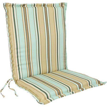 jordan manufacturing outdoor stripe flanged chair cushion