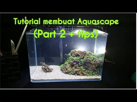 Tutorial Aquascape by Tutorial Membuat Aquascape Untuk Pemula Part 2 Tips Dan