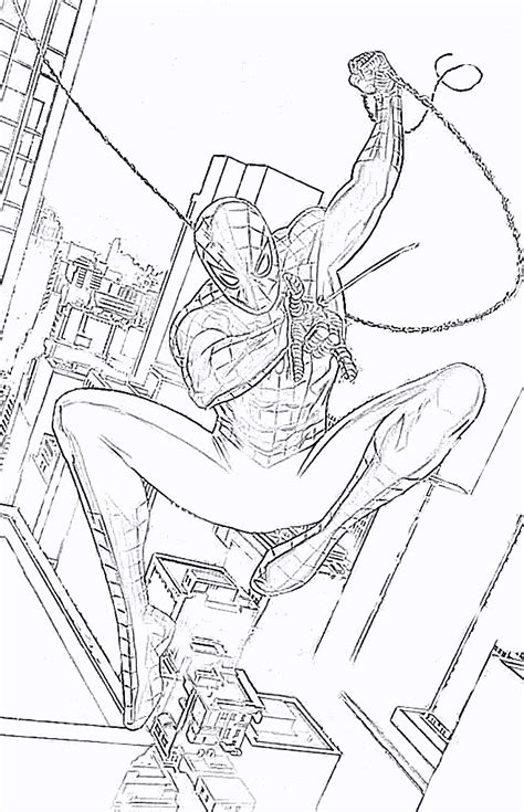 The Amazing Spider Coloring Pages Amazing Spider The Amazing Spider Coloring Pages Coloring Pages