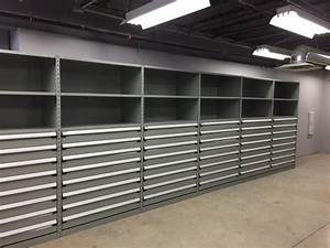 Storage Solutions In New Automotive Parts Department