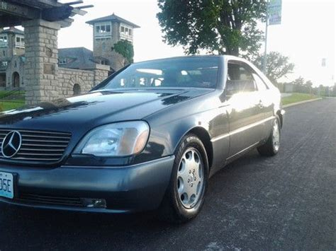 I am proud to be able to own a one owner original georgia car that has. Sell used 1995 Mercedes Benz S600 V12 Coupe in Kansas City ...