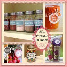 free custom made printable mason jar label maker the With canning label maker