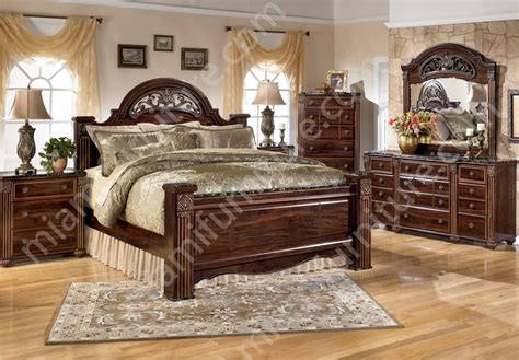 b347 gabriela 4 piece bedroom set ashley furniture