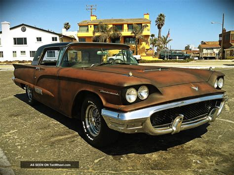 1958 Ford Thunderbird Rat Rod Awesome Show Muscle Car