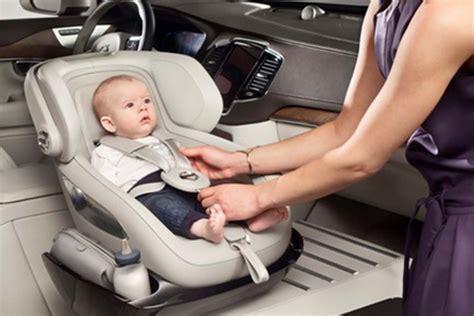 Volvo Creates The Ultimate Luxury Child Car Seat