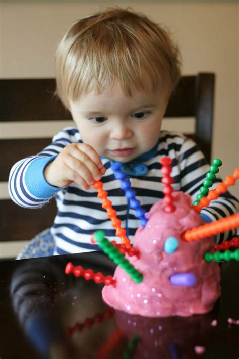 Introducing Playdough To Babies And Toddlers Babies And