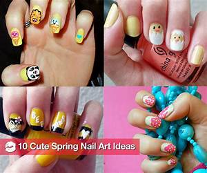 Cute nail art ideas for spring previous next