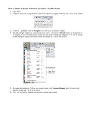 How To Edit Resume On Mac by Mac Users How To Create A Resume Format Of Your Own How
