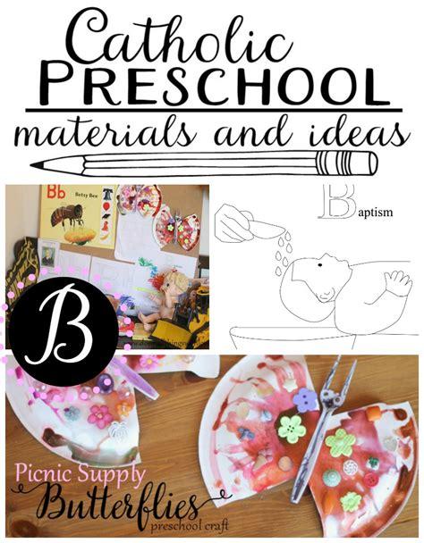 catholic preschool curriculum letter b do small things 829 | catholic preschool ideas for the letter B
