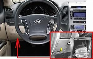 Fuse Box Diagram  U0026gt  Hyundai Santa Fe  Cm  2007