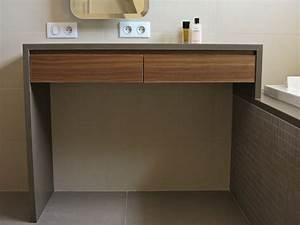 agencement de sdb raboniak mobilier design With mobilier sdb