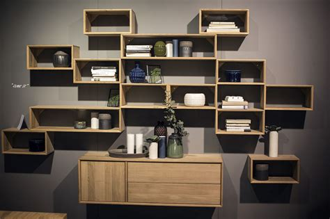 Home Wall Shelves by 55 Wall Mounted Open Shelves Offering Space Savvy Modularity