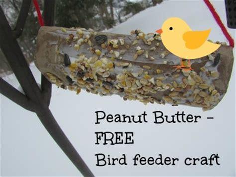 peanut butter free bird feeder craft valley family fun