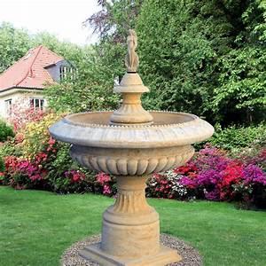 garten standbrunnen mit pumpe gironde o gartentraumde With französischer balkon mit pumpe garten