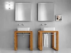 Tisch Für Aufsatzwaschbecken : badm bel waschbecken untertisch lineabeta canavera waschtisch 70x46 bambus natur ebay ~ Markanthonyermac.com Haus und Dekorationen