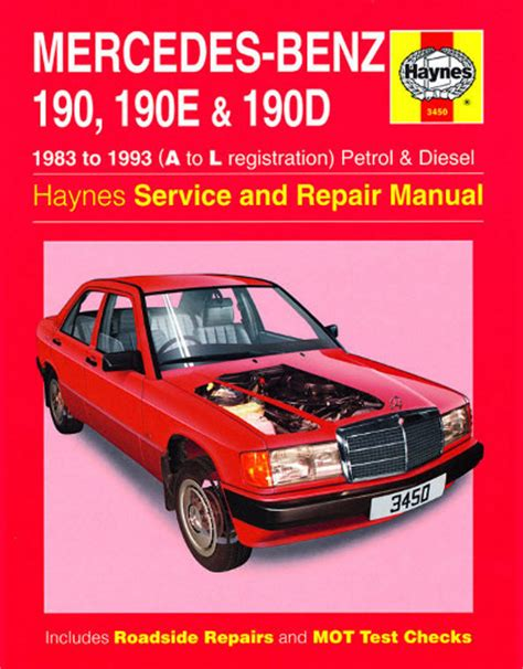 auto repair manual online 1985 mercedes benz w201 lane departure warning mercedes benz 190 190e and 190d petrol and diesel haynes new sagin workshop car manuals