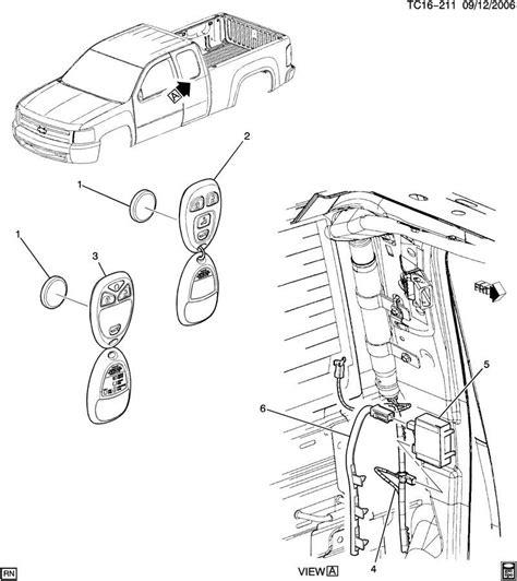 Chevy Silverado Gmc Sierra Remote Door Lock Antenna