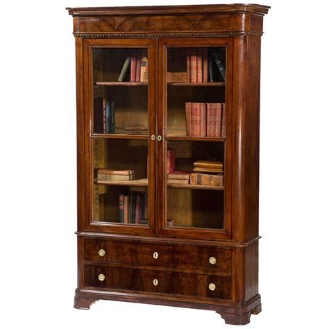 Bookcase With Glass Doors Ideas  Doherty House Choosing